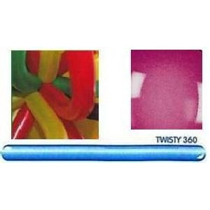 Twisty 360 balloons x 10