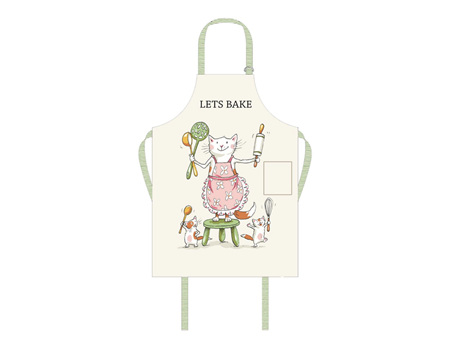Two Bad Mice Apron - Let's Bake