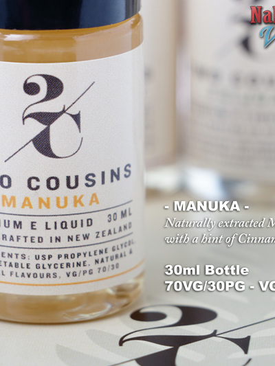 Two Cousins - Manuka - 30ml - e-Liquid