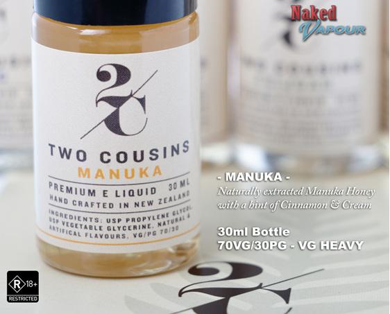 Two Cousins Manuka @ Naked Vapour