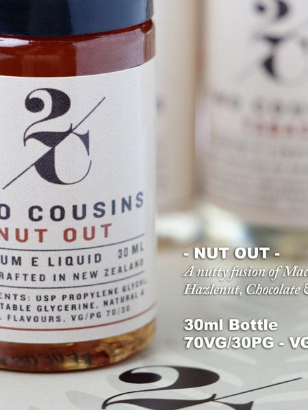 Two Cousins - Nut Out - 30ml - e-Liquid