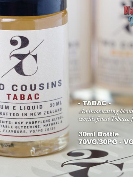 Two Cousins - Tabac - 30ml - e-Liquid