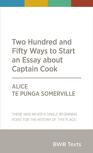 Two Hundred and Fifty Ways to Start an Essay About Captain Cook
