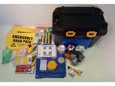 Two Person Comprehensive Emergency Kit