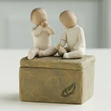 Two Together Keepsake Box - Willow tree