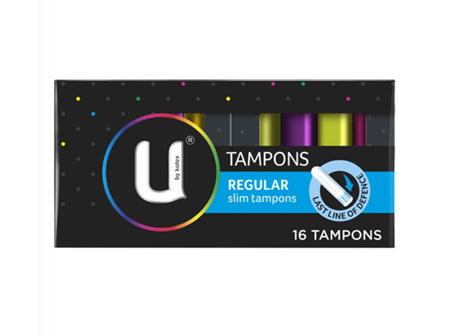 U BY KOTEX Tampons Reg. 16