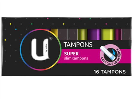 U BY KOTEX Tampons Super 16