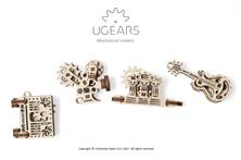 U-Fidgets-Creation. Set of 4 models