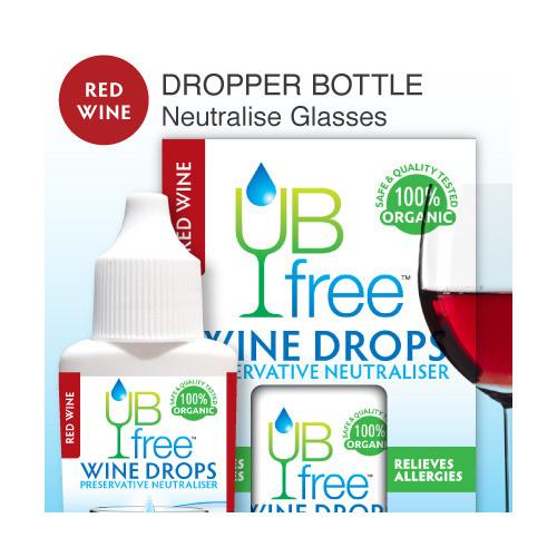 UB Free Wine Drops RED 8ml