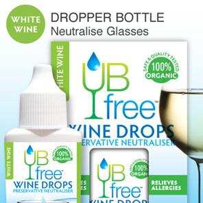 UB Free Wine Drops WHITE 8ml