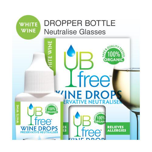 UB Free Wine Drops WHITE 8ml