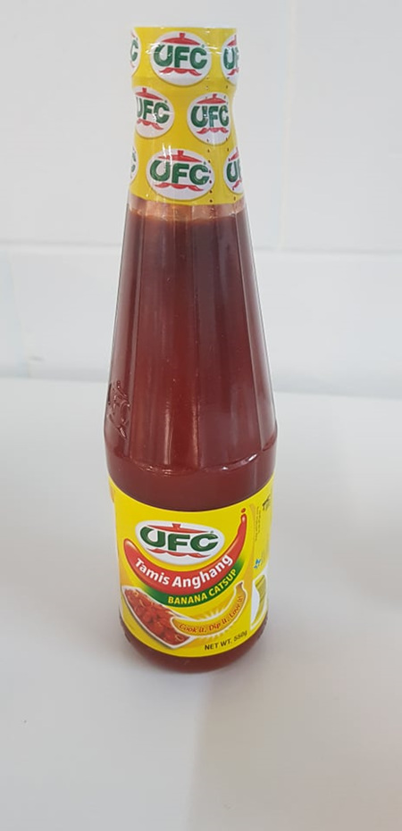 UFC Banana Catsup  avail in 320g and 550g