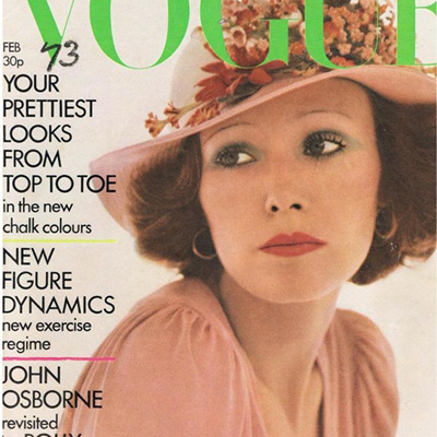 UK Vogue Magazines 1970's