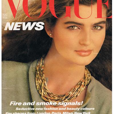 UK Vogue Magazines 1980's
