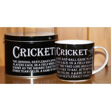 Ult. Gift For Man Mug In Tin Cricket