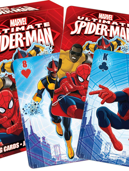Ultimate Spider man Youth Cards