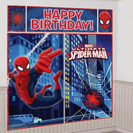 Ultimate Spiderman Wall Decorating Kit - NEW