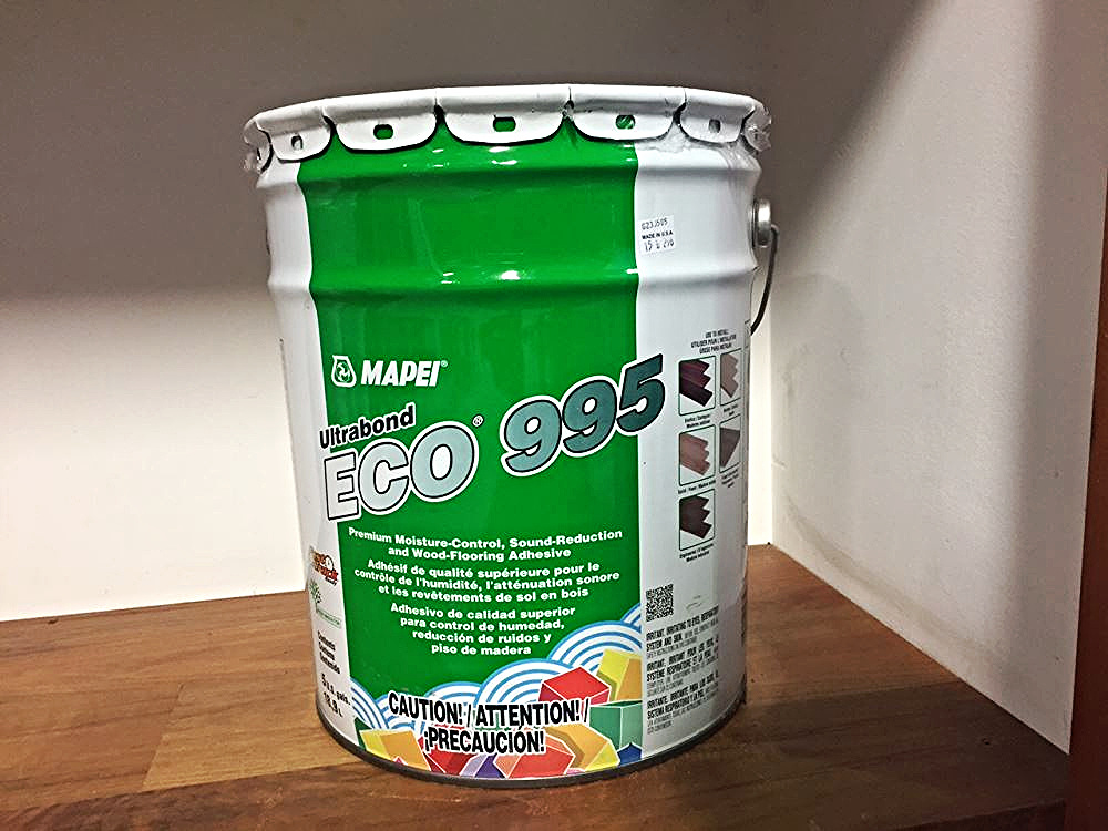 Mapei Ultrabond Eco995 Flooring Glue And Moisture Barrier Health