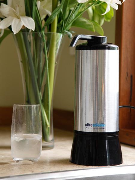 UltraStream Hydrogen Rich Water Ionizer Filter