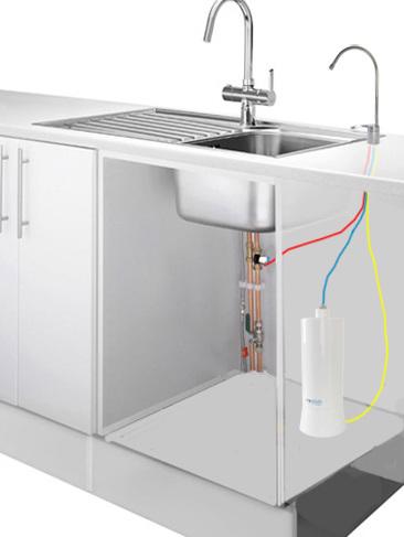 UltraStream Hydrogen Rich Water Ionizer Filter Undersink Bundle