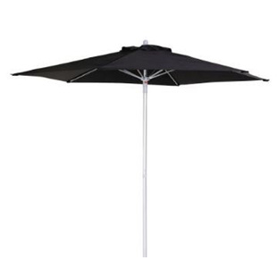 Umbrella Canvas Black 230cm