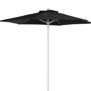 Umbrella Canvas Black 230cm