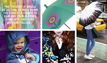 Umbrella, Squid, SquidLondon, Colour changing, Kids, Adults, Jackets