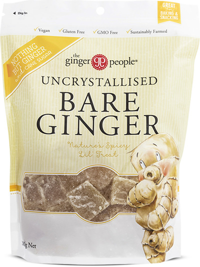 Uncrystallised Bare Ginger - 200g