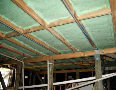 Underfloor Insulation Installed