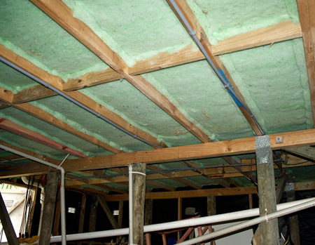 Underfloor Insulation Installed