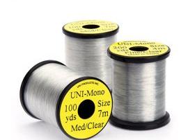 UNI Mono Medium Clear Tying Thread