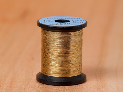 Uni Oval Tinsel Medium Gold