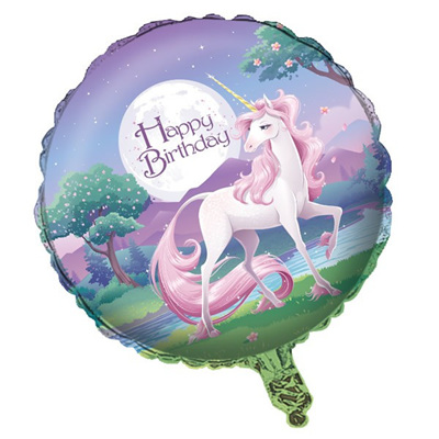 Unicorn 45cm foil Balloon