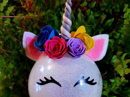 Unicorn bauble