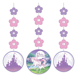 Unicorn Cutouts x 3