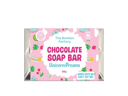 Unicorn Dreams Chocolate Soap Bar