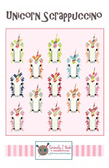 Unicorn Scrappucino Quilt Pattern