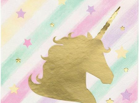 Unicorn Sparkle small napkins