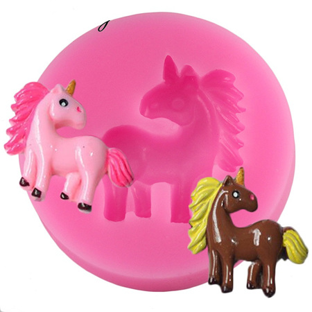 UNICORN STANDING MINI SILICONE MOULD