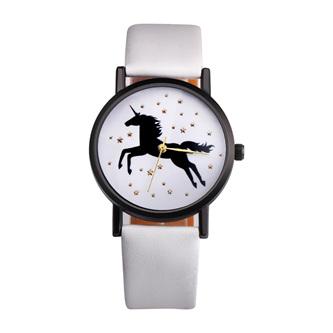 Unicorn & Stars Watch - White