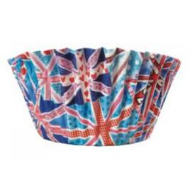 Union Jack British Cup Cake Cases x 50