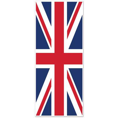 Union Jack door cover