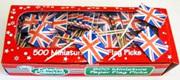 Union Jack Flag Picks x 20