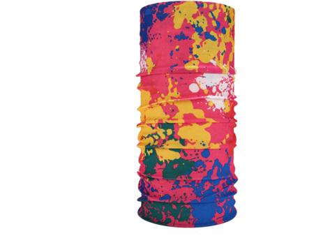 Unisex Paint Splatter Half Mask Scarf - STYLE 2