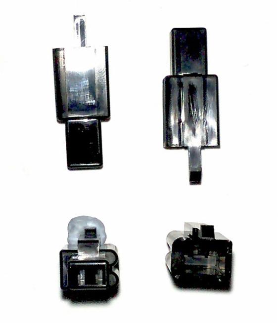 unsealed Honda CBRR crank sensor connector