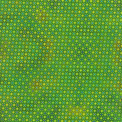 Unusual Garden Green Dots 5UGB-4