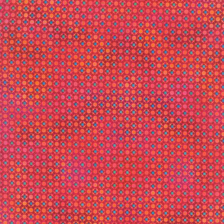 Unusual Garden Red Dots 5UGB-1