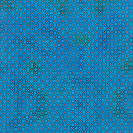 Unusual Gardens Turquoise Dots 5UGB-5