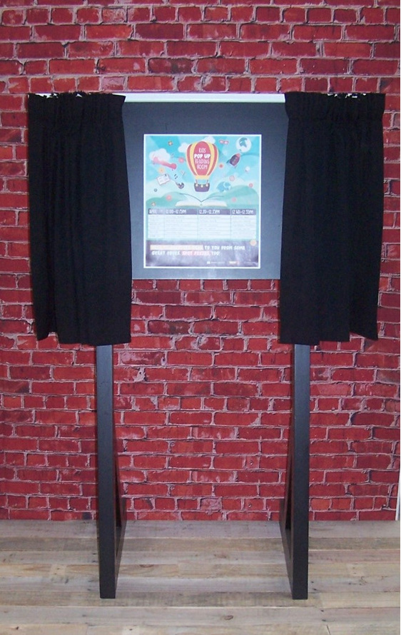 Unveiling Stand Hire