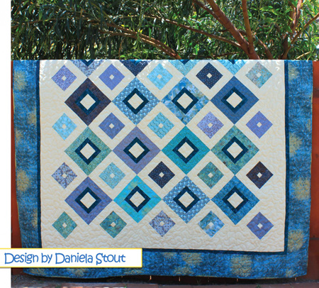 Up Square Down Square Quilt Pattern